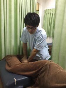 患者様に合わせて適切なマッサージ整体治療をします。